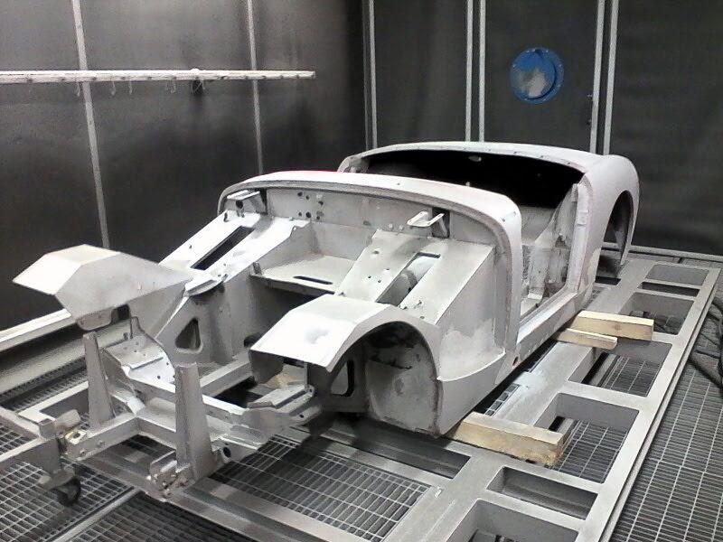 chassis de voiture traitement