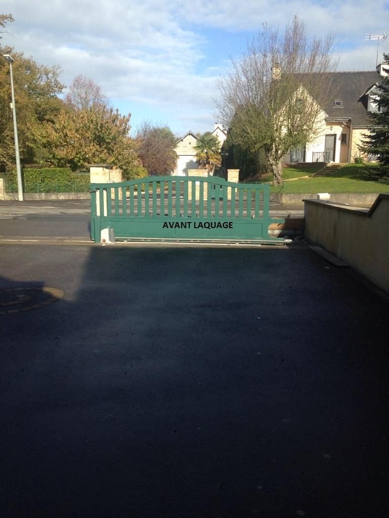 la peinture des portails
